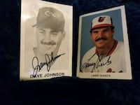 Genuine Signatures of Larry Sheets/Dave Johnson Baltimore, 21206