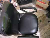 black leather padded chair New Delhi, 110008