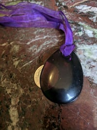 Purple Fluorite Crystal Necklacd Berkeley, 94703