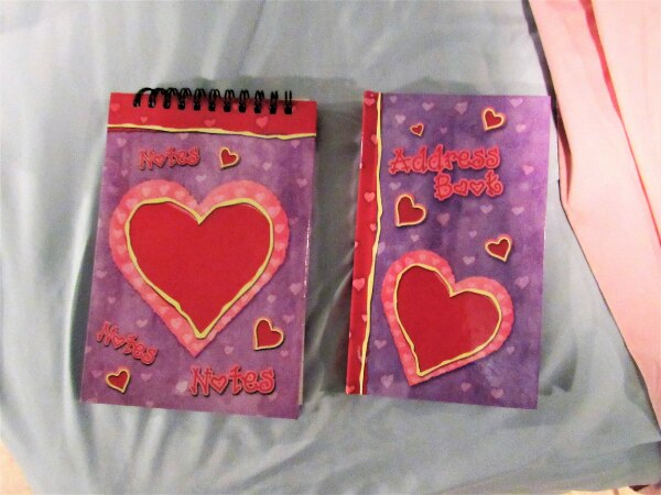 used kids address book and note pad set for sale in oceanside letgo