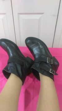 Leather boots size (7.5) great condition McAllen