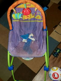 baby's blue and green bouncer Fort Belvoir