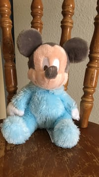 Disney brand Mickey Mouse rattle stuffed animal Placentia, 92870