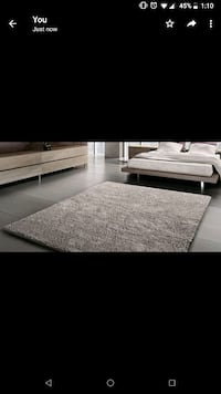 Ruched Area Rug, Grey  Toronto, M2J 4H9
