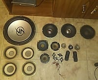 assorted black-and-gray subwoofers Fries, 24330