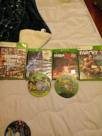 XBOX 360 GAMES ALL WORK WELL!!  Wallkill, 12589