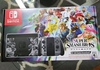 Nintendo Switch console with controller and game case 1138 mi