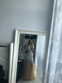 Gorgeous, Mermaid, prom , Wedding,Engagement dress