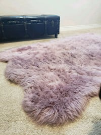 5.9FT x 3ft purple fuzzy shag rug! El Monte, 91731