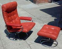 # [TL_HIDDEN]  Lounge Chair and Ottoman(we have 2) Oakland, 94610