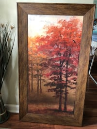 "26""x46"" Beautiful wall art. Excellent condition. Purchased from Kirkland's Jacksonville, 32258"