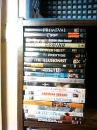 DVD's $1.00 each, or ten for $5.00!