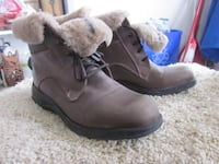 Brand New Martino Women's Canadian Snow Park Shearling Boots - Size 10 Winnipeg