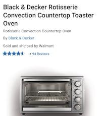 Toaster oven-brand new in box  Toronto, M4H 1H1