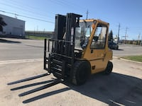 Caterpillar 8000 lb heavy duty forklift W/Cab- A great unit! Mississauga