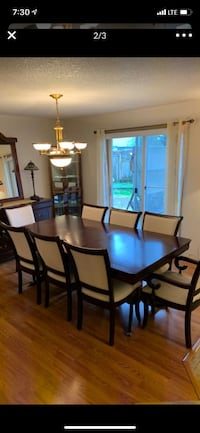 8 seater dining table with extension