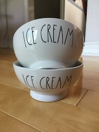 Rae Dunn Ice Cream Bowls (New) Burlington, L7L 5X1