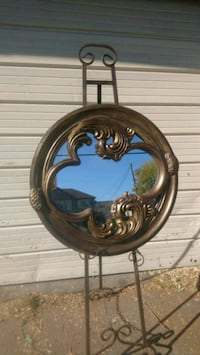 Art Novou  mirror huge 29 inches wide
