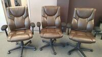 Executive leather chairs 6 available