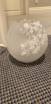 White table lamp from ikea  Toronto, M2L 2A7