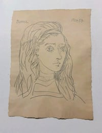 Authentic Picasso Drawing  Lancaster, 29720