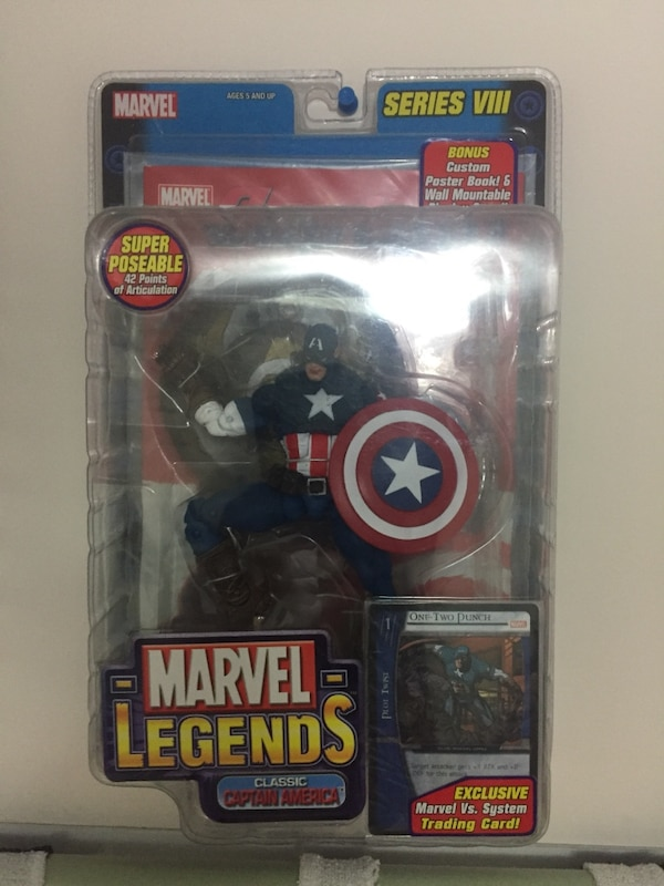 Marvel Legends Captain America