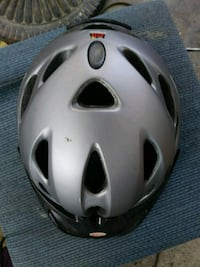 gray and black bicycle helmet 2335 mi