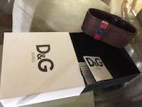D&G leather wristband brand new in box Mississauga, L5L