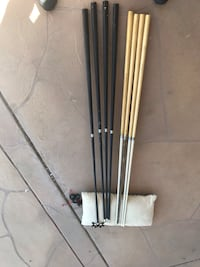 Two black-and-gray golf clubs Phoenix, 85042