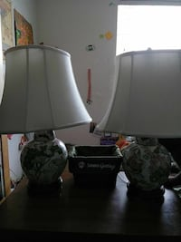 An aesthetic pair of lamps