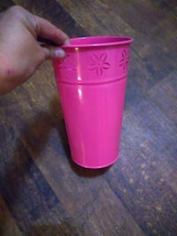 pink metal vase from hobby loby Grand Junction