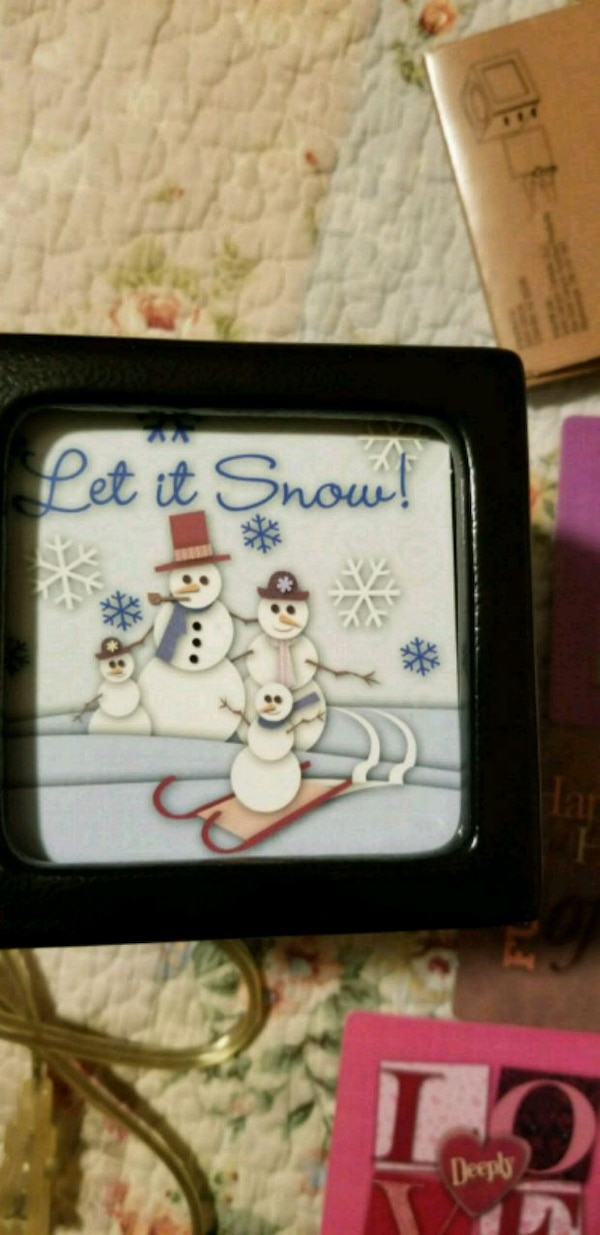 Wax warmer & picture frame