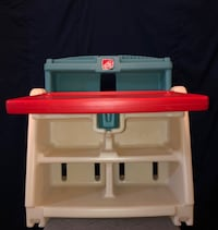 Desk/Easel with stool