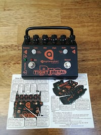 Amptweaker Tight Metal Pro pedal Stavanger, 4012