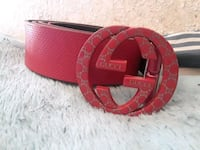 red and black Gucci belt Atwater, 95301