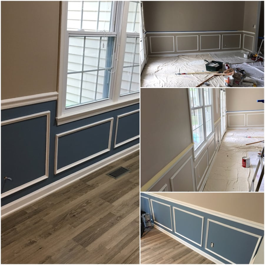 Painting and houses remodeling