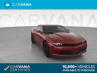 2015 Chevy *Chevrolet* *Camaro* LS Coupe 2D coupe RED Fort Myers