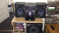 Home Stereo w Subwoofer Sony MHC-EC909iP Jersey City, 07306