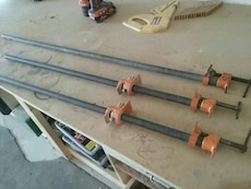 """1/2"""" pipe clamps"""