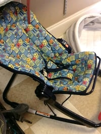 baby's blue and yellow bouncer Covington, 30014