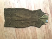 Green lace dress size med/lg Moncton, E1C 5G5