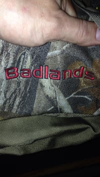 Badlands brown and gray textile Helena, 59601