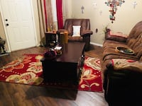 5 drawer real wood table and grandion road floral rug Phoenix, 85015