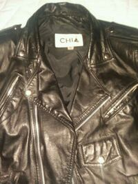 1990 VINTAGE CHIA LEATHER BIKER JACKET Las Vegas, 89102