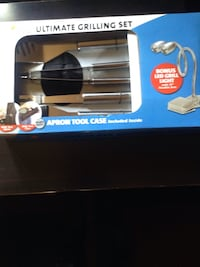 Ultimate grilling set apron tool case in box East Brunswick, 08816