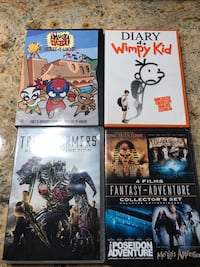 four assorted movie DVD cases Vancouver, 98682