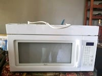 white General Electric microwave oven Lewisburg, 45338