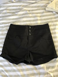 High waisted black shorts  Mojave, 93501