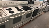 Electric stoves 90 days warranty Reisterstown, 21136