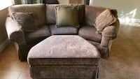 Bassett Custom sofa and chairs